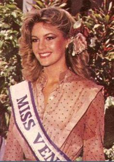 Miss Venezuela Irene Saez 1.981