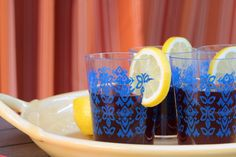 """Tinto de Verano, translation the """"red wine of summer"""", is a refreshing blend of Spanish red wine and lemon-lime soda and the perfect beverage to serve on a hot summer day… or night… #EntertainingAtHome #SummerEntertaining #AnAppealingPlan"""