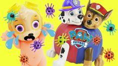 PAW PATROL have Color Changing Halloween Pumpkin when they Trick or Treat. Trick or treating when you find a Scary Ghost can be frightening. We find Toys Shopkins spiders and also have a Candy Bonanza. Baby Skye gets scared with she sees the Marshall and Chase monster pumpkin change colors. This is an educational learning video with toys that can help with eye-hand coordination fine motor skills and learning English as a second language (ESL).  Subscribe here to never miss a video…