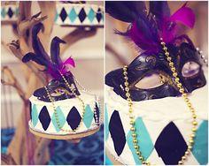 Masquerade party theme - Yolie Ramirez Photography