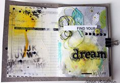 rosa verdosa: Art journal...dream