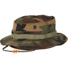 5a8c740fa7888 Propper Woodland Camo Boonie Sun Hat - Cotton Polyester Twill. Military  Surplus StoreMilitary CapFloppy ...