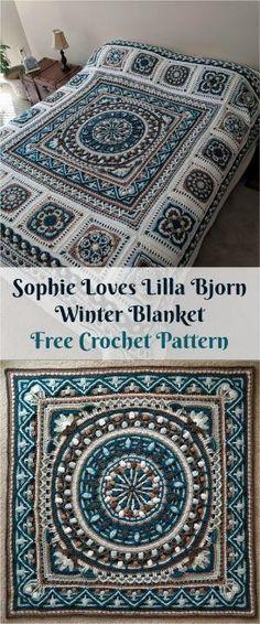 Grandma Spiked Crochet Ripple Blanket [Free Crochet Pattern] #freecrochetpatterns #spikestitch #rippleblanket #crochetpattern #crochetlove