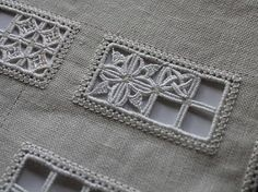 Reticella distance learning sampler from Lee Albrecht ~ worked by Manya of Humming Needles Types Of Embroidery, Hand Embroidery Stitches, Embroidery Techniques, Embroidery Patterns, Hardanger Embroidery, Lace Embroidery, Drawn Thread, Doily Patterns, Dress Patterns