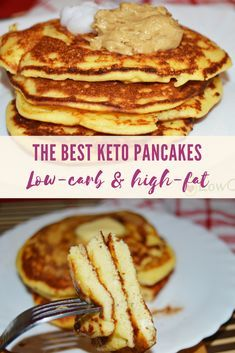 How do you want to start your mornings? I suggest you start by making this healthy, wheat-free keto recipe that requires only a few ingredients. You will love this keto pancakes made with coconut flour! Enjoy