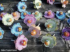 {Bellas} Papierträume: Blühende Lollies
