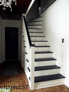 """Sometimes... you don't """"fix"""" the gaps in stairs that aren ..."""