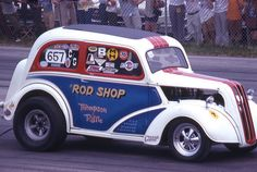 photos of rod shop anglia | History Drag cars in motion.....picture thread.