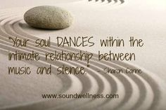 Food for the soul! From Sharon Carne www.soundwellness.com #WUVIP ❤