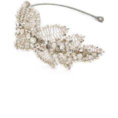 Jenny Packham Acacia Headdress Ii - Crystal