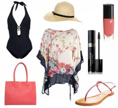 #Sommeroutfit Elegant am Strand ♥ #outfit #Damenoutfit #outfitdestages #dresslove