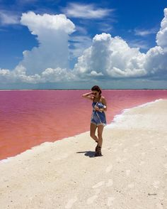 Wow,+Mexico+Has+A+Pink+Lagoon+And+It+Is+Super+Pretty