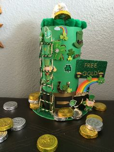The boys and I made a Leprechaun trap! We NAILED IT!