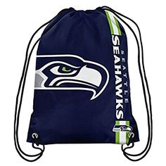 NFL Seattle Seahawks 2015 Drawstring Backpack, Green