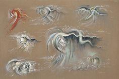 "Lee Bontecou - link to exhibit ""Drawn Worlds""."