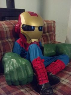 This is what my son would wear to school for Halloween!