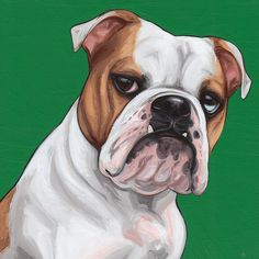 Browse all products in the Custom Pet Portraits category from The Pet Shop, a tiny division of Yellow Brick Home. Puppy Aggression, Bulldog Clipart, Bulldog Images, Dog Training Near Me, Aggressive Dog, Dog Show, Cool Pets, Illustrations, Dog Behavior