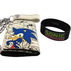 Sonic the Hedgehog Wallet Combo oh my gosh, I WANT THIS. LIKE, ASDFGHJKL;