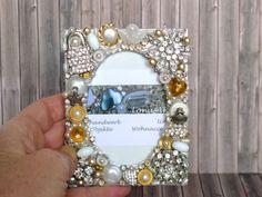Bilderrahmen im Vintage Stil silver gold Bilderrahmen von LonasART
