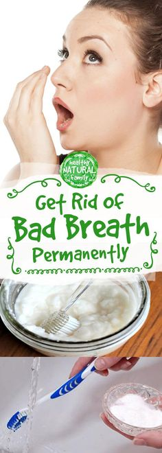 Get Rid Of Bad Breath Permanently With Just 1 Simple Ingredient! - Everything You Need To Know About Oral Health Garlic Breath, Bad Breath Remedy, How To Prevent Cavities, Best Teeth Whitening, Oral Health, Health Care, Dental Health, Dental Care, Personal Hygiene