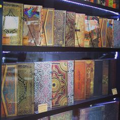 A collection of Paperblanks journals | From Instagram by @paperblanksfan