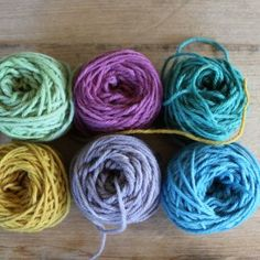 Harvest Wool sample Pack - Summer by Timber and Twine