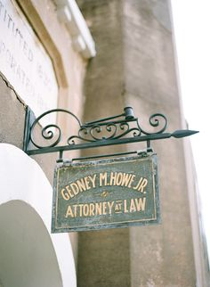 Old Law Office in Charleston | Melissa Schollaert Photography