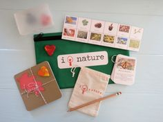 Montessori-inspired nature exploration kit for kids!