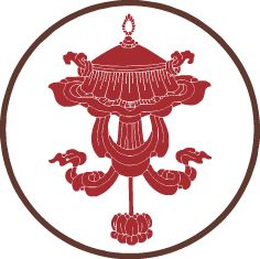 Tibetan door protection symbol called Chattra