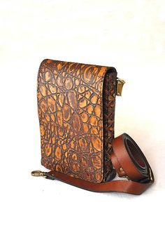 Handmade leather bag for men Leon4 by myleatherbag on Etsy, $129.00