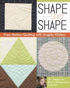 It's easy to plan your machine quilting--simply open Shape by Shape Free-Motion Quilting with Angela Walters and find creative inspiration on every page.
