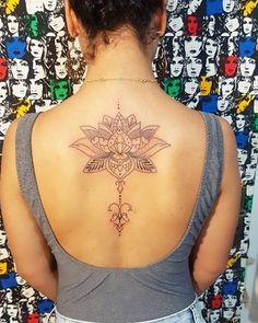 Flor de Lótus. 3° tatuagem
