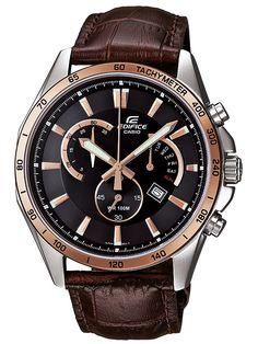 Stainless Steel Chronograph Watch For Men. Kiriakos Gofas Jewelry · Casio  Edifice 2804fea9108