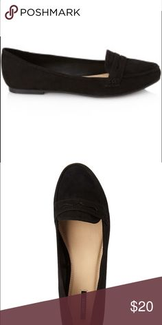 Forever 21 Black Penny Loafer Brand New. Never Worn. Faux Suede. Super Comfy! Forever 21 Shoes Flats & Loafers