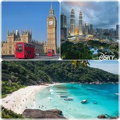 Topul destinațiilor preferate pentru vacanța de iarnă din 2014: călătorii în Europa, Asia și Oceania.