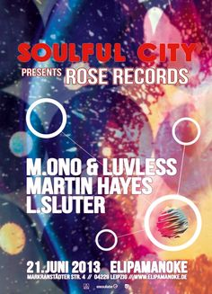 Soulful City presents: Rose Records at Elipamanoke