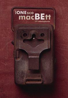 Macbeth, Ionesco, Polish Theater Poster
