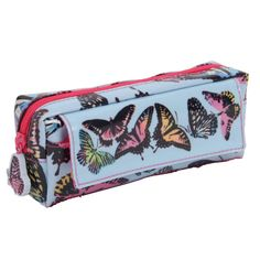 Butterfly brights multi pencil case