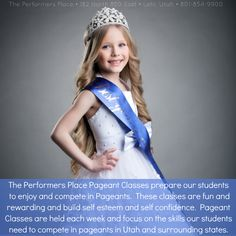 The Performers Place #Pageant Classes prepare our #students to enjoy and compete in pageants. These classes are #fun and #rewarding and build #selfesteem and #selfconfidence. Pageant Classes are held each week and #focus on the #skills our #students need to compete in pageants in Utah and surrounding #states. #ThePerformersPlace #dance #music #voice #acting #modeling #cheerleading #hiphop #zumba #Lehi #Utah #UT