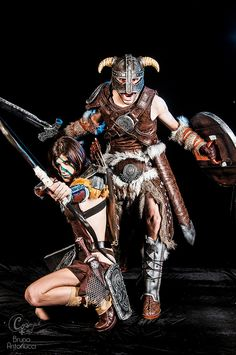Dovahkiin (Skyrim) #cosplay - Game Stage 2014