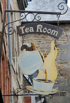 Blade Sign, Storefront Signs, Pub Signs, Sign Display, Advertising Signs, Store Signs, Hanging Signs, Vintage Signs, Tea Time