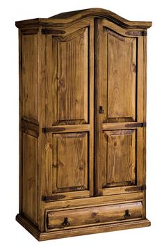 Armario rústico formado por 2 puertas y 1 cajón grande fabricado en madera maciza, este y más en: http://www.rusticocolonial.es/mueble-rustico-y-mueble-mejicano-de-gran-calidad-al-mejor-precio/muebles-de-salon-rusticos-y-mejicanos-de-gran-calidad-al-mejor-precio/busca-tu-mueble-de-salon-rustico-por-colecciones/coleccion-mejicano