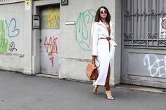 MILAN Fashion Week Street Style Anna Russka
