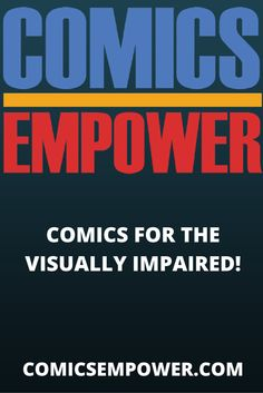 A comic book store for the visually impaired!    #VisuallyImpaired #Blind #ComicsForTheVisuallyImpaired #ComicsForTheBlind