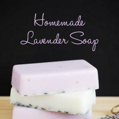 Homemade lavender soap  http://myhoneysplace.com/links-to-many-diy-projects-with-instructions-updated-often/