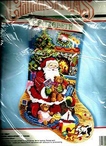 Needlepoint Christmas Stocking Kit.34 Best Christmas Stocking Kits Images Christmas Stocking