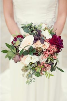 Winter inspired bridal bouquet. Photo by Sarah Kate Photography www.wedsociety.com #bridal #wedding #bouquet