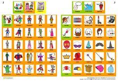 Comunicación aumentativa: Libro de carnaval con pictogramas de ARASAA…