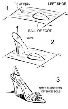 how to draw ballet shoes step by step stuff pop culture free sketching and painting. Black Bedroom Furniture Sets. Home Design Ideas