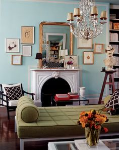 See more images from A Color Palette for the Whole House on domino.com